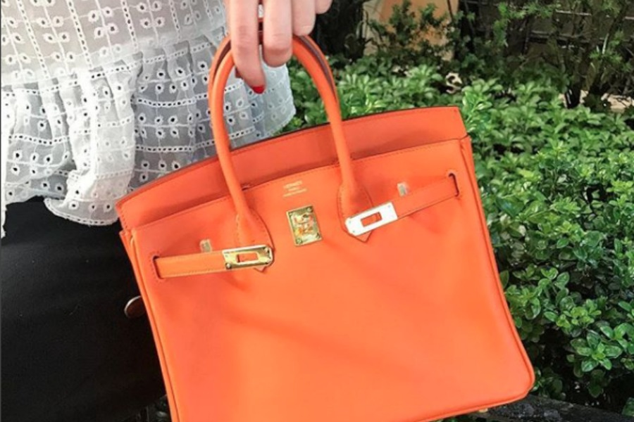 History of Hermes Orange