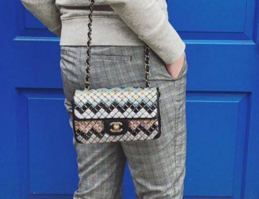 Moisaic Chanel Flap Bag