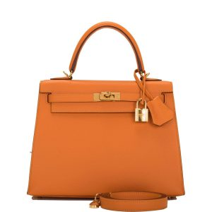 Hermes Apricot Kelly
