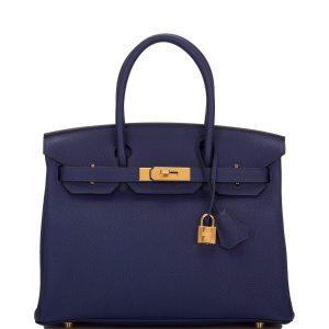 Blue Encre Birkin - New Hermes Colors
