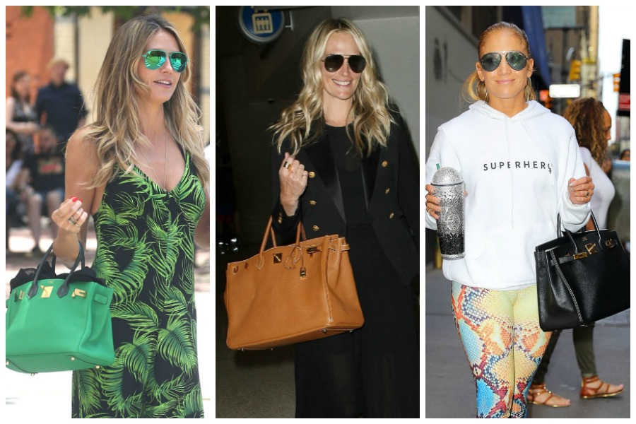 Celebs and Birkin bags