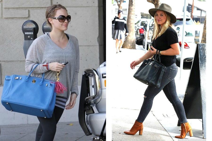 Hilary Duff Birkin Bag