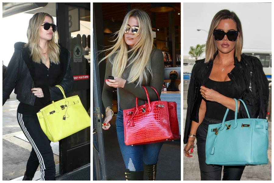 Khloe Kardashian Birkin Bags