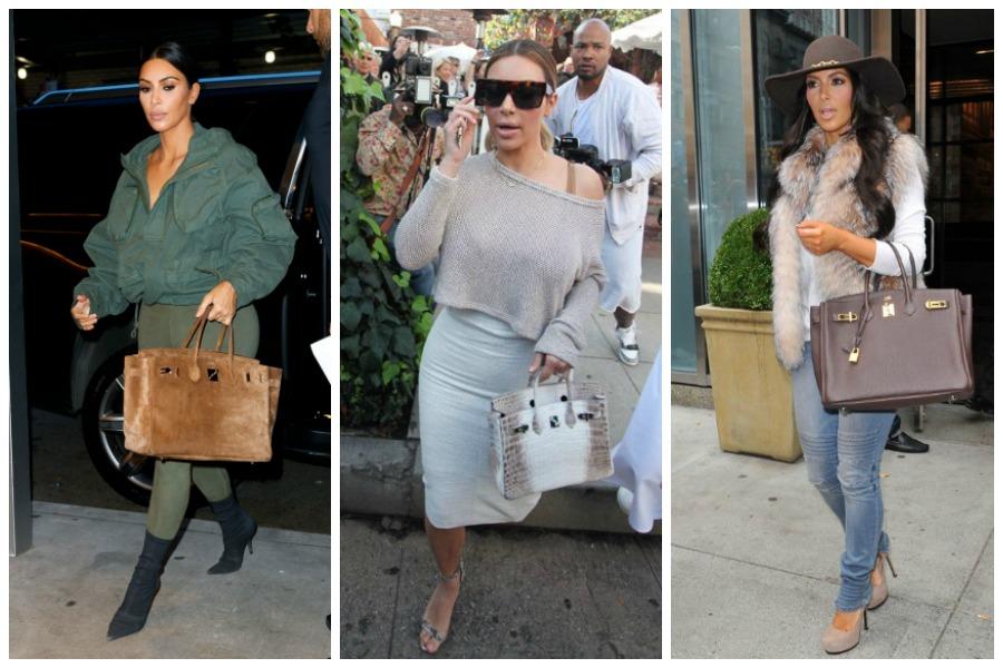 Kim Kardashian Birkin Bags