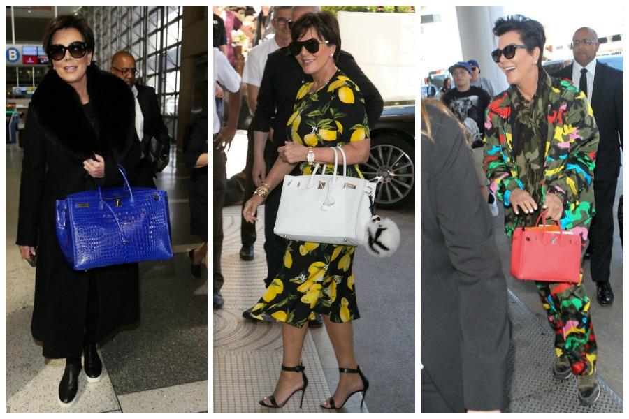 Kris Jenner Birkin Bags