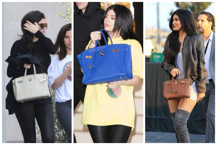 Kyle Jenner Birkin bagKyle Jenner Birkin bag