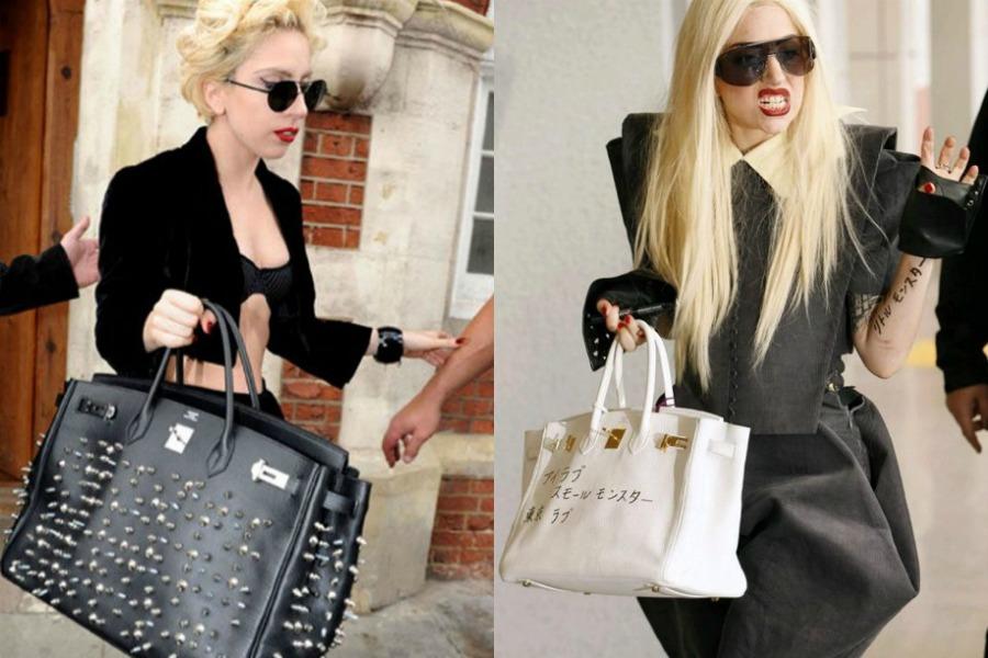 Lady Gaga Birkin Bags
