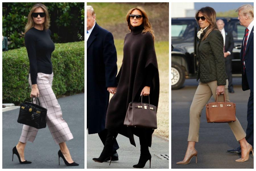 Melania Trump Birkin Bag
